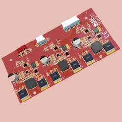 Modular LED controller for professional lighting